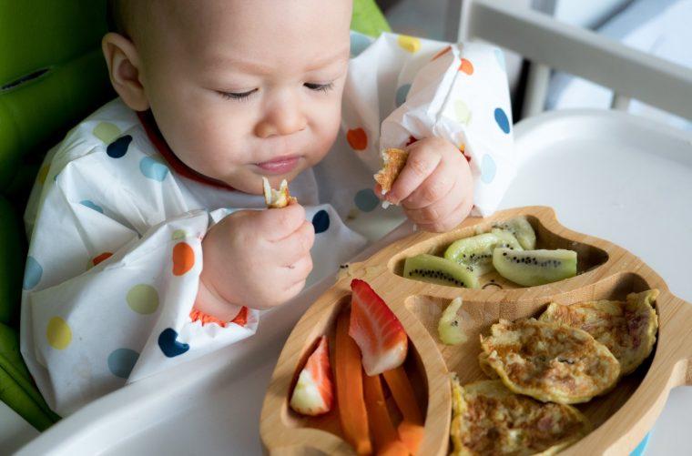 BLW Alimentación complementaria bebé