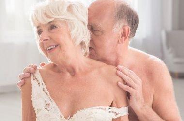 pareja de adultos mayores y su sexualidad
