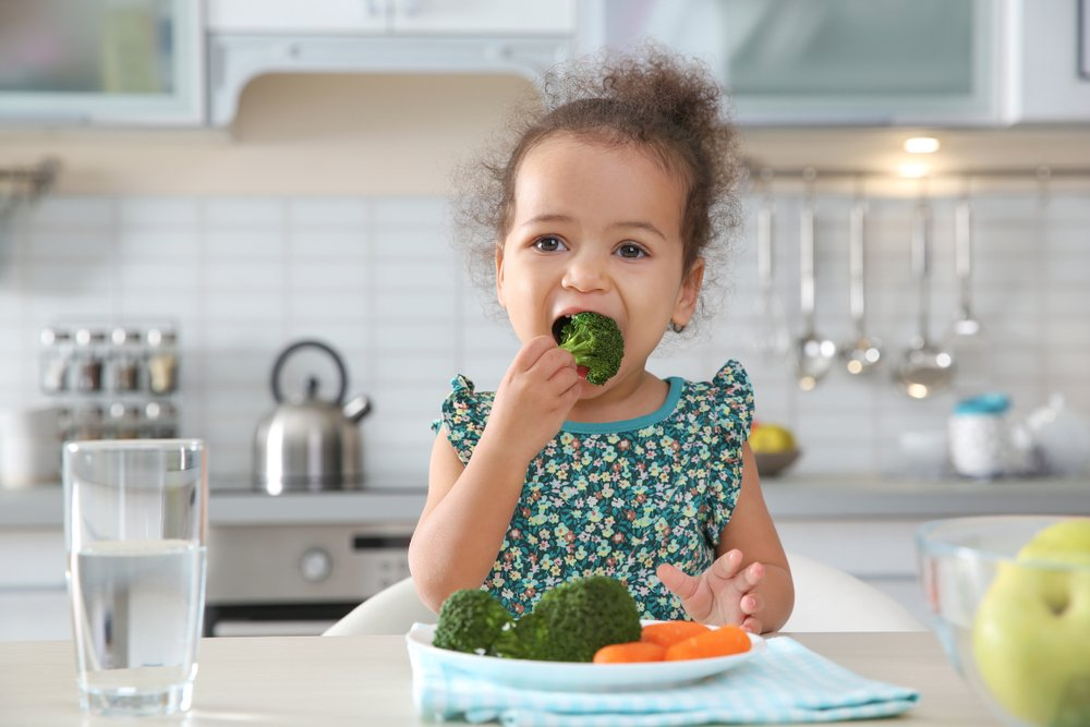 alimentacion saludable para nina