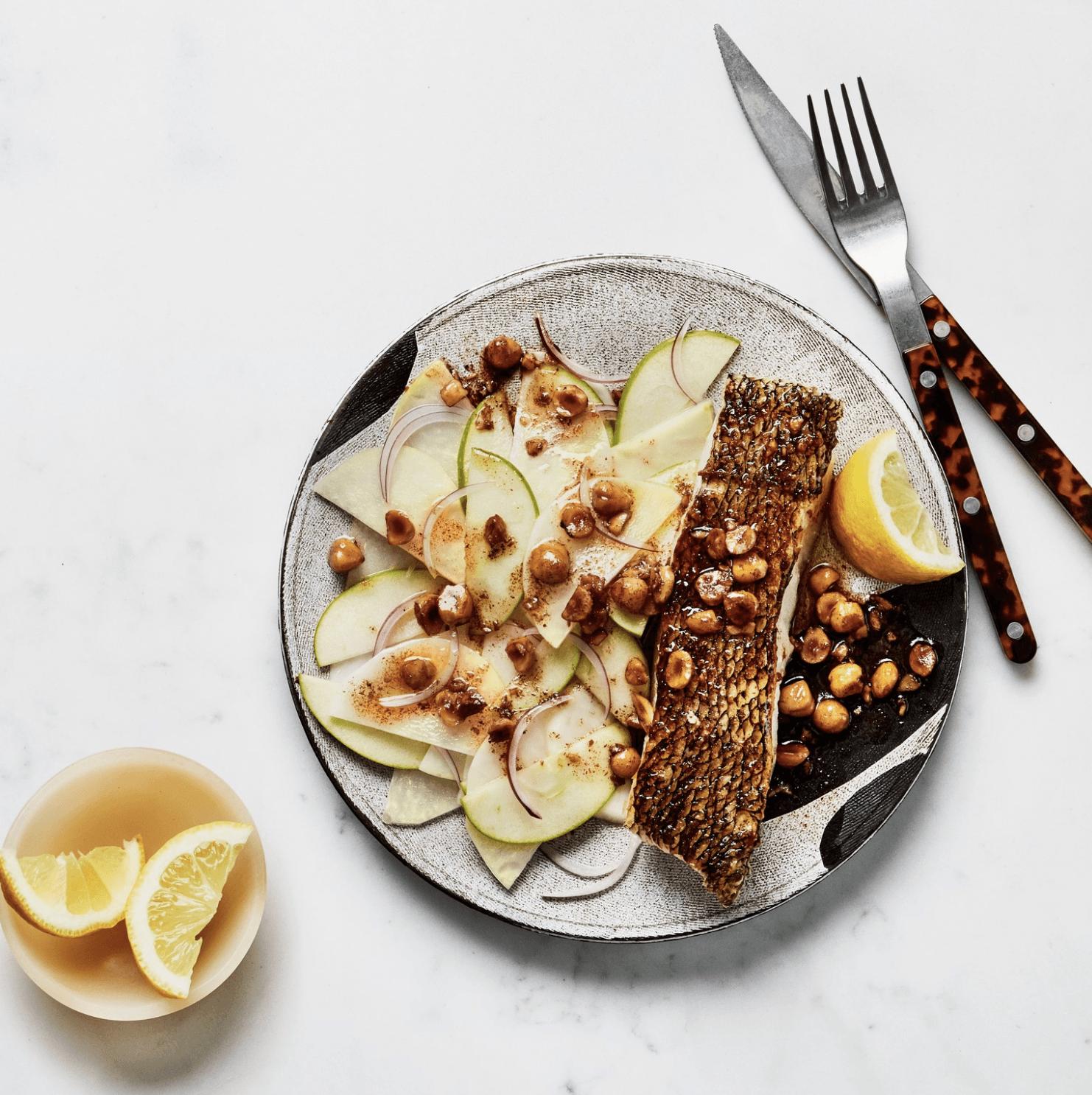 pescado crujiente
