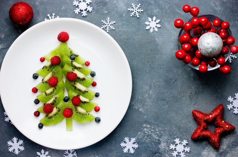 Receta de árbol navideño para las novenas navideñas de aguinaldos