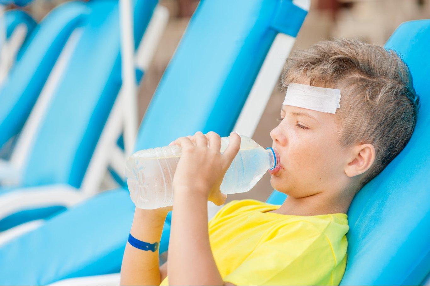 Enfermedades en niños en vacaciones