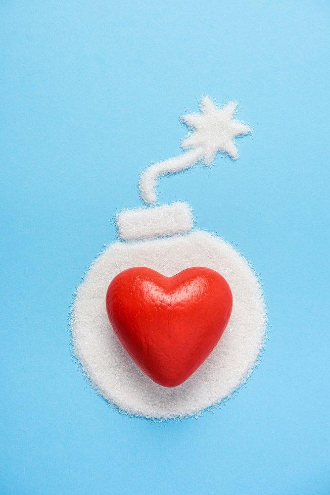 exceso de azúcar