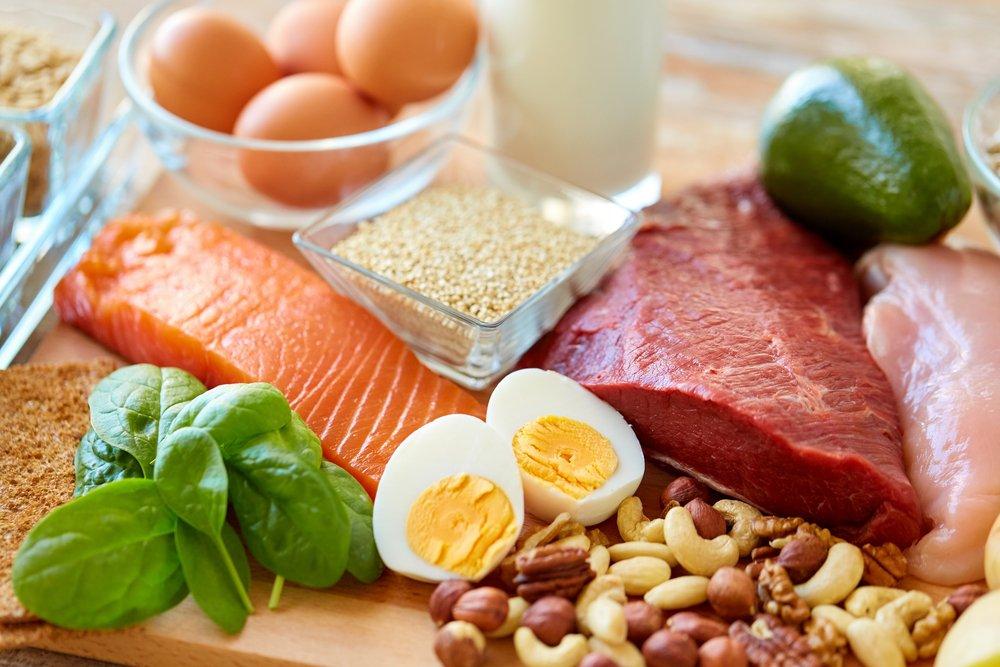 alimentos que contienen proteínas para un ciclista
