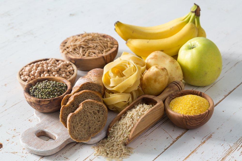 alimentos con hidratos de carbono que debe consumir un ciclista