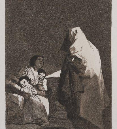 Francisco de Goya- Que viene el Coco