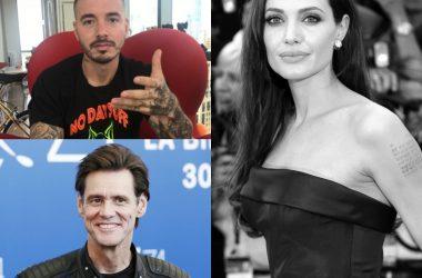 collage de famosos con depresión