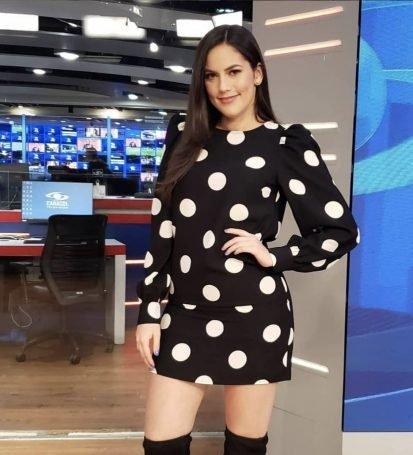 Linda Palma, presentadora de televisión