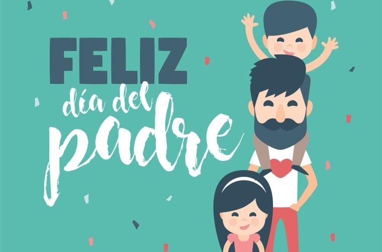 Ilustración Feliz Día del Padre