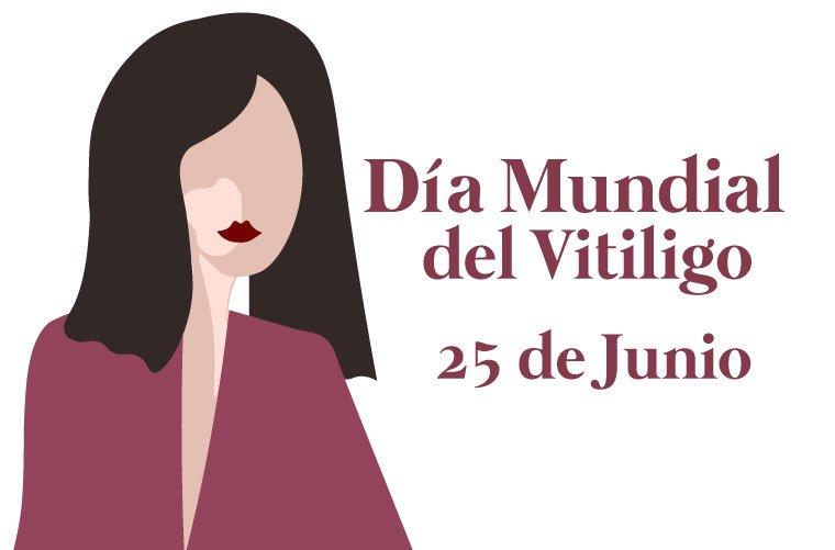 Ilustración Día Mundial del vitiligo