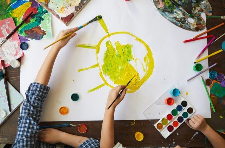 colores y Arteterapia