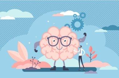 Ilustración de cerebro