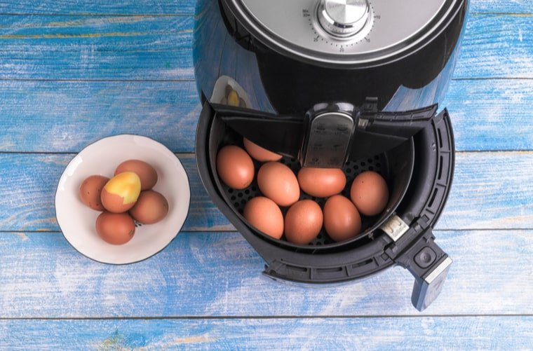 huevos en la air fryer