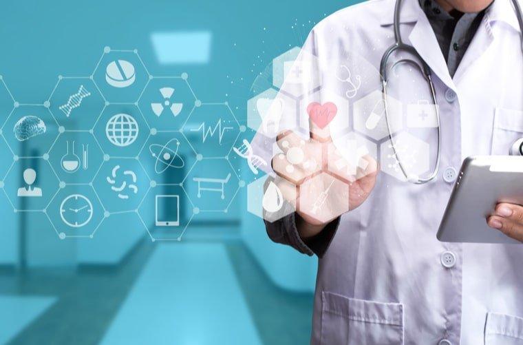 Concepto médico y tecnología