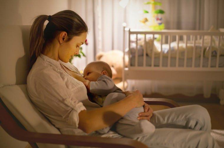 Lactancia materna mama y bebe