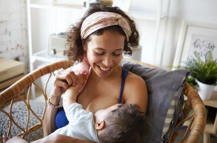 mama con bebe