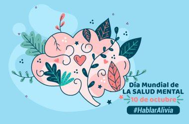 Ilustración Día de la Salud Mental