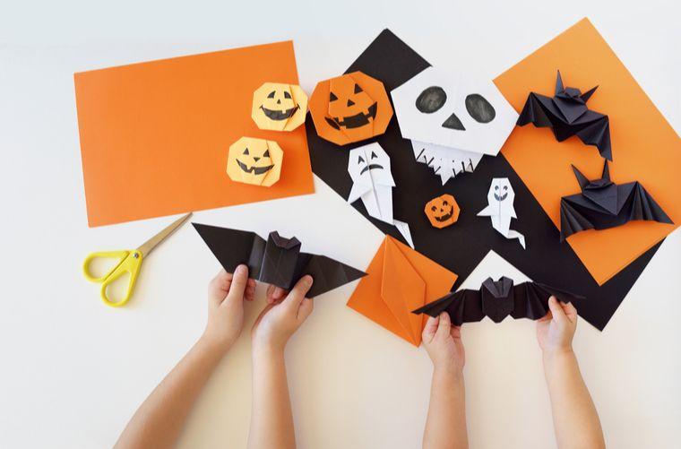 Siluetas para perder miedo a Halloween