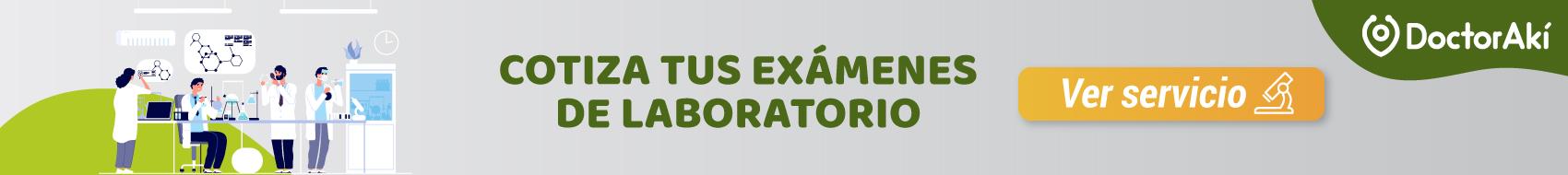 Exámenes de laboratorio 1700x190