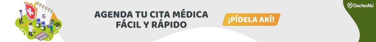 Banner header Cita Médica