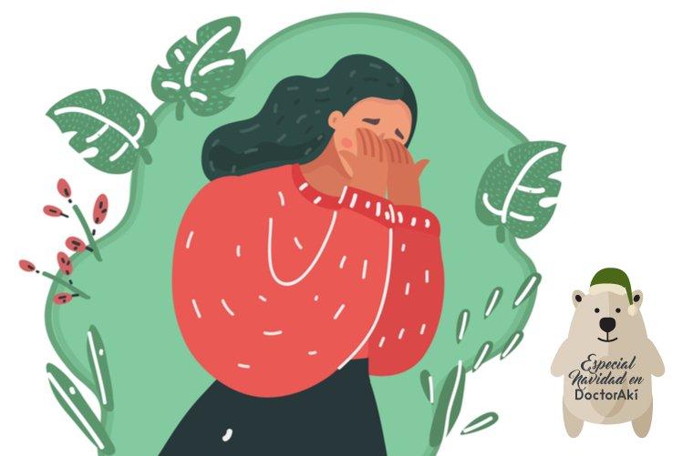 Ilustración cómo vivir el duelo en Navidad