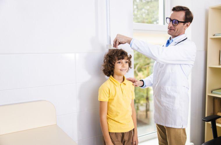 control de salud de rutina del niño