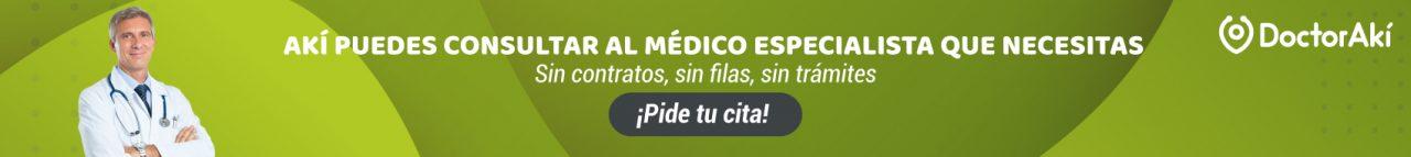 Médico especialista Akí puedes - 1700 x 190