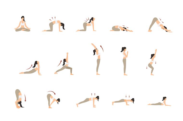 posturas para el dolor de espalda