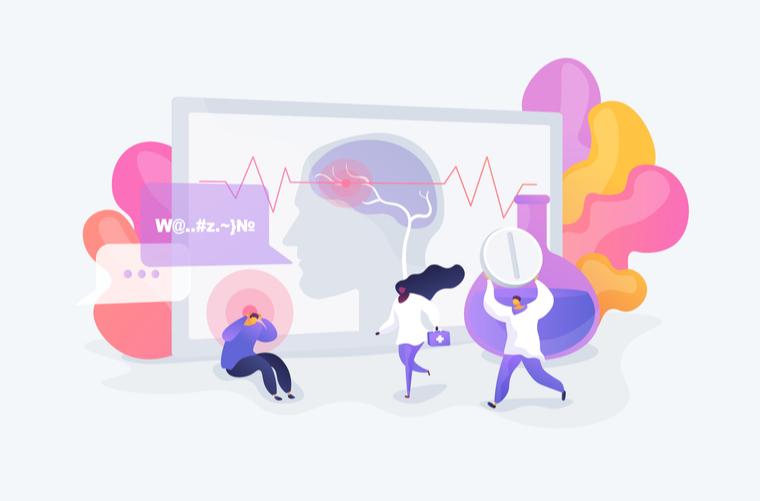 Ilustración Qué es la epilepsia y causas