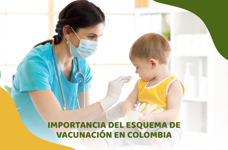 Esquema de vacunación en Colombia