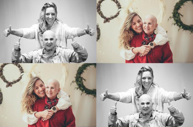 Mónica Londoño Klinkert, hija de Irma Klinkert, sobreviviente de cáncer de mama.