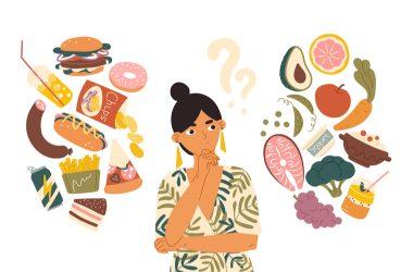 Por qué es difícil comer saludable